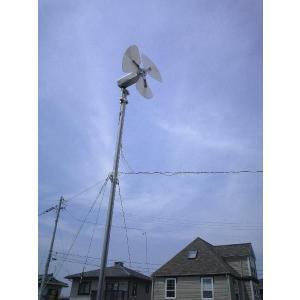 マイクロ風力発電機「信州の風」ステンレスボディ|ease-style|02
