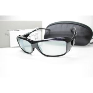 TIEMCO ティムコ Sight Master サイトマスター 偏光サングラス TALEXレンズ Canopy Black キャノピーブラック L.Gray/SILミラー 7751241|eass