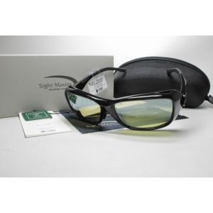 TIEMCO ティムコ Sight Master サイトマスター 偏光サングラス TALEXレンズ Canopy Black キャノピーブラック EG/SILミラー 7751241|eass