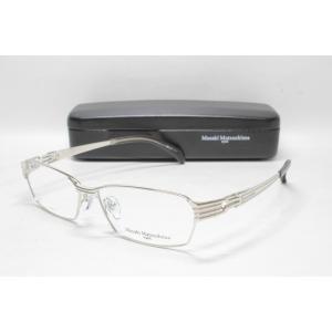 メガネ 眼鏡 度付レンズ 加工無料 MASAKI MATSUSHIMA マサキマツシマ MF 1201 シルバー col.1|eass