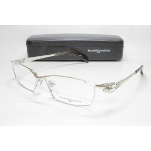 メガネ 眼鏡 度付レンズ 加工無料 MASAKI MATSUSHIMA マサキマツシマ MF 1202 シルバー col.2|eass