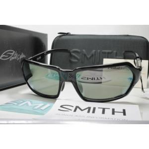 SMITH スミス 偏光サングラス ACTION POLAR SERIES 207500007 Aura Black X-Gray12 Silver Mirror|eass
