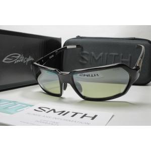 SMITH スミス 偏光サングラス ACTION POLAR SERIES 207500014 Aura Black X-Light Green37 Silver Mirror (New)|eass