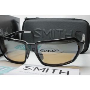 SMITH スミス 偏光サングラス ACTION POLAR SERIES 207500015 Aura Black X-AC Orange 31 Silver Mirror (New)|eass
