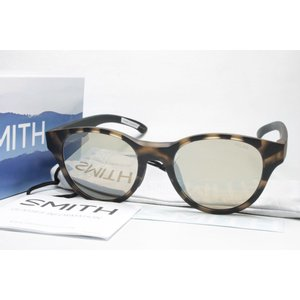 SMITH スミス 偏光サングラス ACTION POLAR SERIES 207700101 Snare (New) Matte Tortoise X-Brown32 Silver Mirror|eass