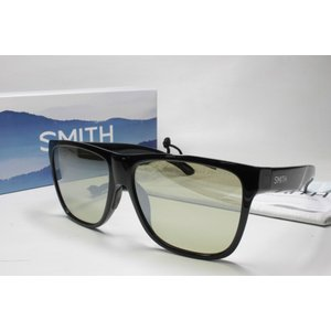 SMITH スミス 偏光サングラス LIFE STYLE 20439406 Lowdown XL 2  Black Green37 Silver Mirror (New)|eass