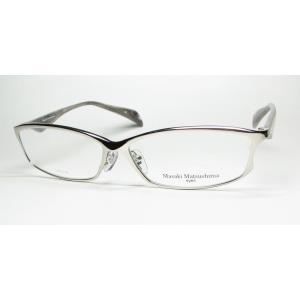 メガネ 眼鏡 度付レンズ 加工無料 MASAKI MATSUSHIMA マサキマツシマ MF 1092 シルバー col1|eass