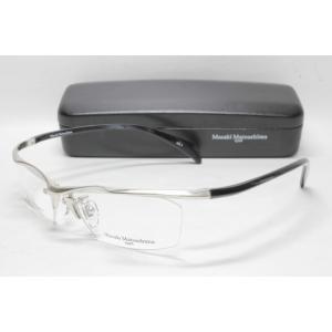 メガネ 眼鏡 MASAKI MATSUSHIMA マサキマツシマ MFH 103 ヘアラインシルバー/グレーデミ col.1|eass
