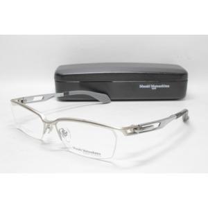 メガネ 眼鏡 度付レンズ 加工無料 MASAKI MATSUSHIMA マサキマツシマ MFS 106 シルバーマット/メタリックグレー col.5|eass