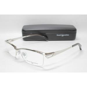 メガネ 眼鏡 度付レンズ 加工無料 MASAKI MATSUSHIMA マサキマツシマ MF 1194 シルバー col.1|eass