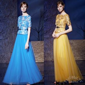 ロングドレス 大きいサイズ 4XLまで 演奏会用ドレス 発表...