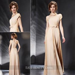 ロングドレス / 演奏会ドレス カラードレス 声楽・ピアノコンサート パーティー 結婚式 / シンプル ワンショルダー|east-beauty