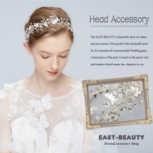 ヘッドドレス ビジュー ヘアアクセサリー ウェディング 結婚式 披露宴 二次会 パーティー 花嫁ヘア k-h-642|east-beauty