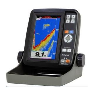 魚探 PS-610C ホンデックス 5型ワイド 2020 新商品 ホンデックス魚探 カラー液晶プロッ...