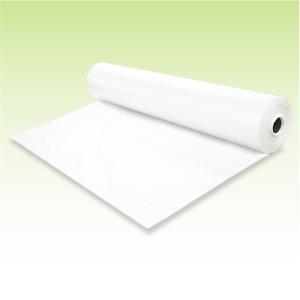 使い捨て【防水ベッドシート(ロールタイプ)】(白色)180cmごとにミシン目付