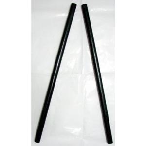 カリスティック・黒色塗装(カリ棒、エスクリマスティック) 1対(2本セット)直径2.5cmタイプ