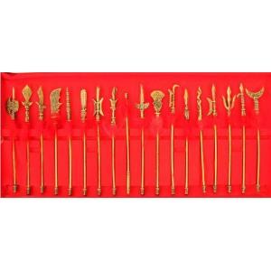 中国古兵器 ミニチュア中セット 武具18個入り