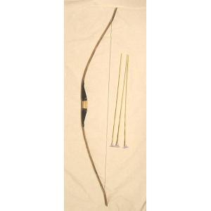 竹製手作り 弓矢セット大 120cmタイプ 【懐かしの玩具】|eastwave