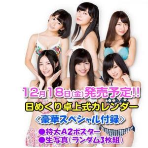 AKB48グループ 2016 オフィシャルカレンダー 卓上式...