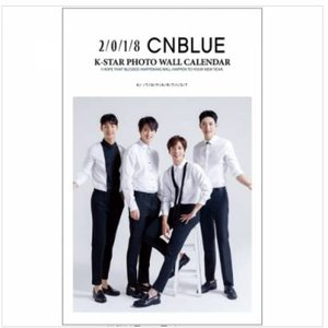 CNBLUE 2018年壁掛けカレンダー【お取り寄せ品】|eastwave