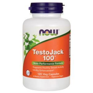テストジャック Testo Jack 100 120ベジカプセル入り NOW FOODS社製