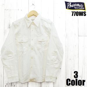 ■SPECS ブランド:Pherrow's フェローズ 商品名:'40年代モデルワークシャツ 商品番...