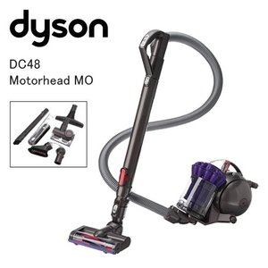@未使用品 Dyson ダイソン サイクロン掃除機 DC48 Motorhead MO アイアン/サテンパープル (コンプリートキットプラス、タングルフリータービンツール付)|easy-style2007