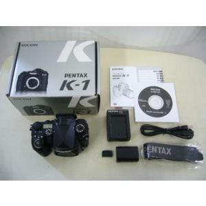 【中古】 RICOH リコー PENTAX ペンタックス K-1 BLACK デジタルカメラ ボディ|easy-style2007