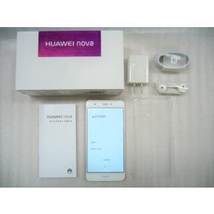 @未使用品 HUAWEI nova ローズゴールド HUAWEI CAN-L12 ファーウェイ デュアルSIM DSDS ピンク Rose Gold SIMフリー|easy-style2007