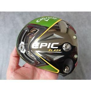 【中古】 超美品! キャロウェイ EPIC FLASH SUB ZERO エピック フラッシュ サブゼロ  トリプルダイアモンド 10.5° ドライバー ヘッドのみ|easy-style2007