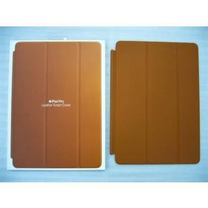 @未使用品 アップル純正 10.5インチiPad Pro用 レザー Smart Cover MPU92FE/A サドルブラウン 茶色 Apple iPad純正ケース アイパッドカバー|easy-style2007