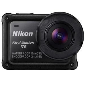 ニコン KeyMission 170 4K UHDムービー搭載 防水 アクションカメラ 並行輸入品|easy-style2007