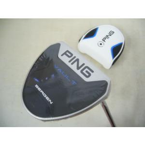 保証書無し商品 ピン VAULT BERGEN Platinum パター 黒ドット 34インチ PP62グリップ 日本仕様|easy-style2007