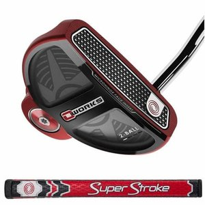 US仕様 オデッセイ O-WORKS RED 2-BALL オー・ワークス レッド 2ボール パター SS2.0バージョン|easy-style2007