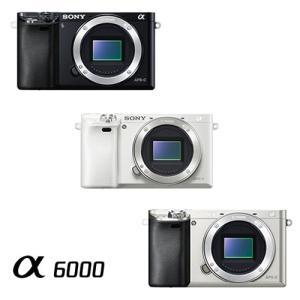 ソニー デジタル一眼カメラ α6000 ボディ ILCE-6...