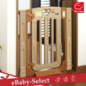 ベビーゲート スマートゲイト2 [本体] ブラウン 日本育児|ebaby-select