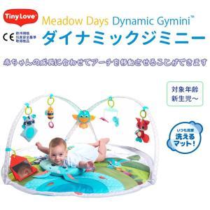 TINY LOVE(タイニーラブ) ダイナミックジミニー プレイジム Meadow Days(送料無料)|ebaby-select