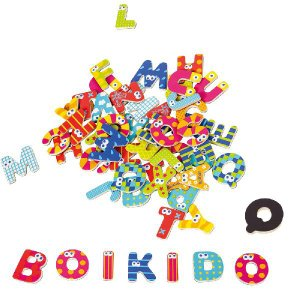 マグネット レターズ ABC アルファベット 大文字/小文字 Boikido(ボイキド) |ebaby-select
