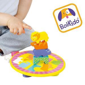 木製 知育玩具 バランスゲーム アニマルサーカス Boikido(ボイキド)|ebaby-select