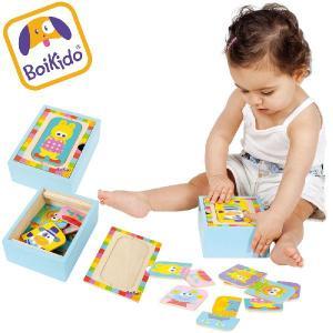 木製パズル アニマル ペグパズルボックスBoikido(ボイキド) |ebaby-select