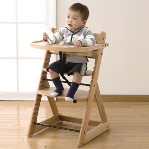 NEWハイチェア ナチュラル / ブラウン セーフガード・テーブル付き 日本育児|ebaby-select