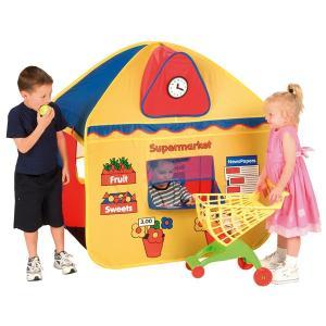 ごっこ遊びテント おみせやさんごっこ スーパー/郵便局 日本育児|ebaby-select