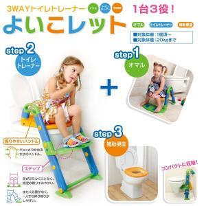よいこレット 3ステップトイレトレーニング 日本育児|ebaby-select