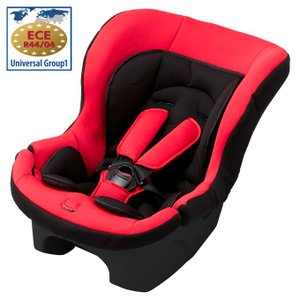 日本育児 新生児〜4才頃まで使用可能チャイルドシート コンパクトフィット レッド(送料無料)|ebaby-select