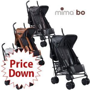 mima boレザレット素材上質な触りな触り心地ベビーカー (ミマ)(送料無料)|ebaby-select