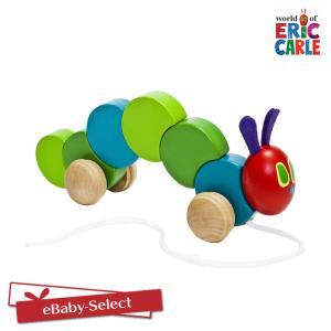 EricCarle(エリックカール)  はらぺこあおむし 木製くねくねプルトイ|ebaby-select