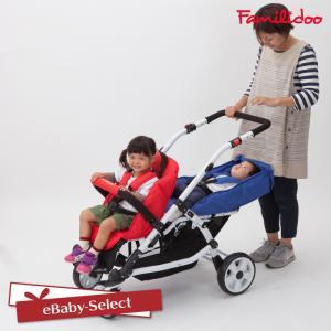 ベビーカー お散歩カー  2人乗り カラフルライフM2 大型ベビーカー(送料無料) ebaby-select