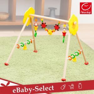 木製ジム フラワーガーデン ベビージム HEIMESS|ebaby-select