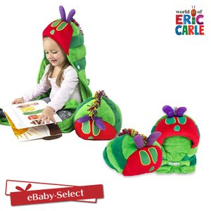 EricCarle(エリックカール)  はらぺこあおむし やわらかピロー・ブランケット|ebaby-select
