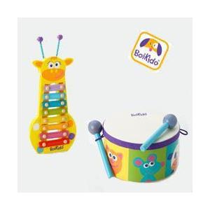 音あそびセット ドラム×ジラフザイロフォン Boikido(ボイキド) |ebaby-select